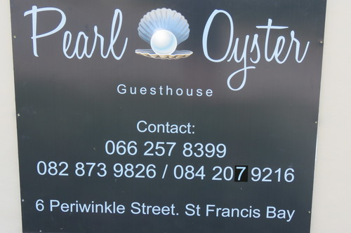 Pearl Oyster Sign