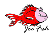 Joe Fish Chest Logo